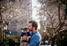 Man Shows Everyone How Much He Adores His Pug by Doing This Remarkable Gesture