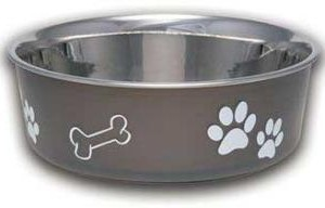 Loving Pets Bella Bowl Espresso Large