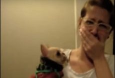 (Video) Girl Tells Her Dog She Loves Her. What the Dog Does Next Leaves Her Stunned